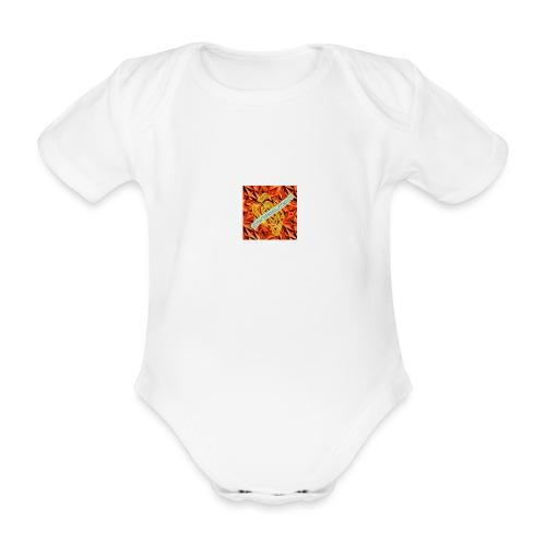 sverimasken2 - Ekologisk kortärmad babybody