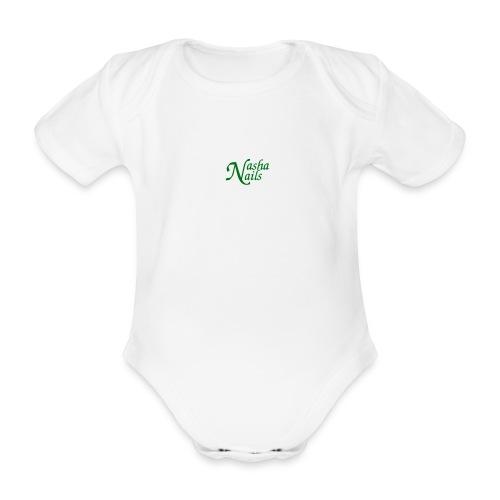 logo transparant png - Baby bio-rompertje met korte mouwen
