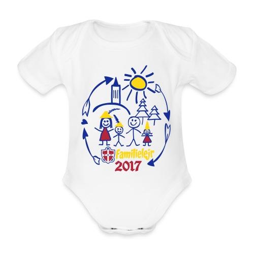 tshirtlogo-sw2017smallb - Kortærmet babybody, økologisk bomuld