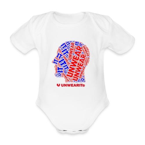 UNWEARIT IN MY MIND - Body ecologico per neonato a manica corta