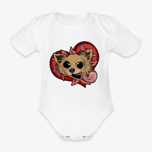 Engla - Ekologisk kortärmad babybody