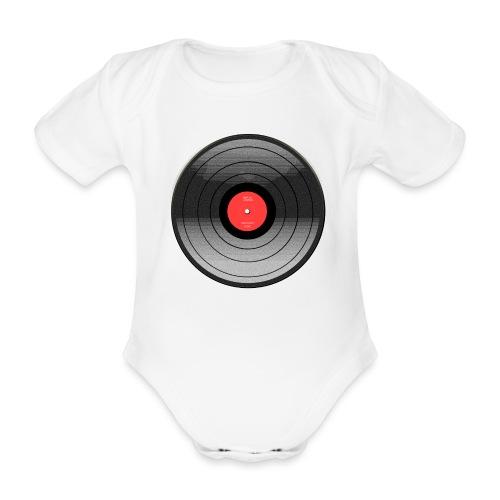 Vinyl Sunrise - Ekologiczne body niemowlęce z krótkim rękawem
