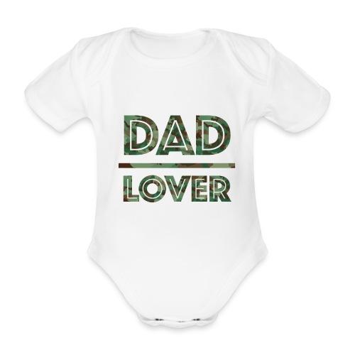 DAD LOVER - Ekologisk kortärmad babybody