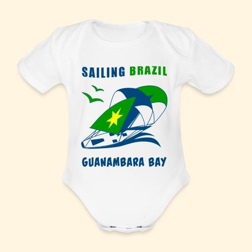 Sailing Brazil - Organic Short-sleeved Baby Bodysuit