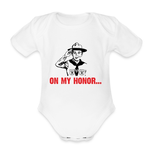 On my Honor... - Body Bébé bio manches courtes