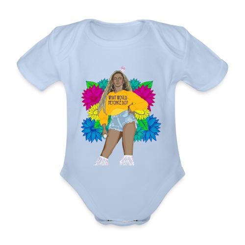 What would Bey do? - Ekologisk kortärmad babybody