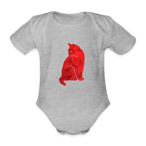 Cat - Baby Bio-Kurzarm-Body