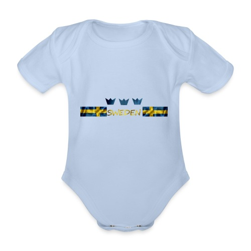 Sweden 2021 - Ekologisk kortärmad babybody