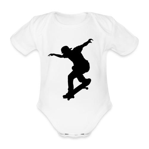 Skater - Body ecologico per neonato a manica corta