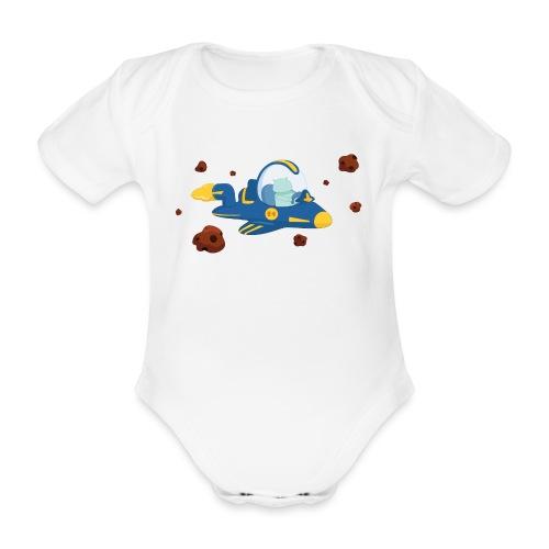 Voyageur de l'espace - Body Bébé bio manches courtes
