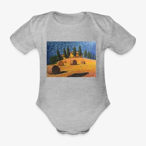 tuscany - Organic Short-sleeved Baby Bodysuit