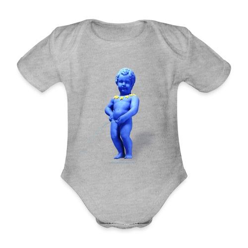 EUROPA mannekenpis ♀♂ | Enfant - Body Bébé bio manches courtes