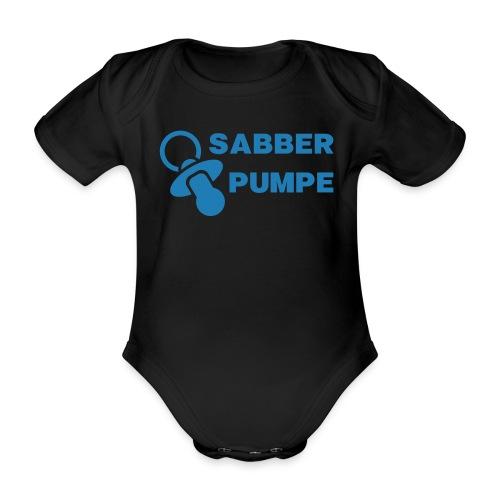 Sabberpumpe - Baby Bio-Kurzarm-Body