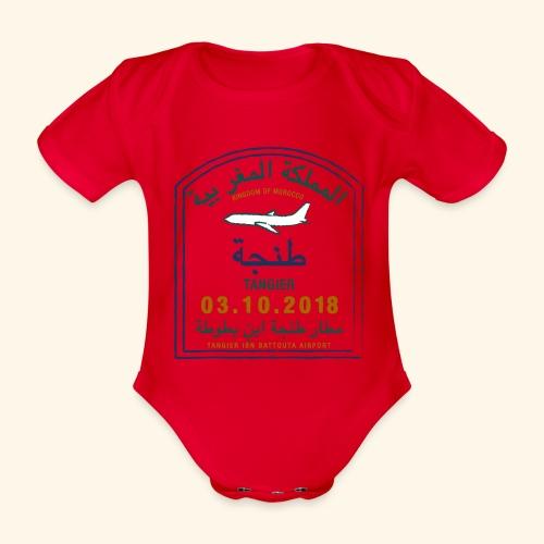 Tanger - Body Bébé bio manches courtes