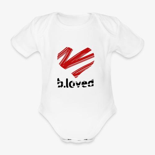 b-loved - Ekologiczne body niemowlęce z krótkim rękawem