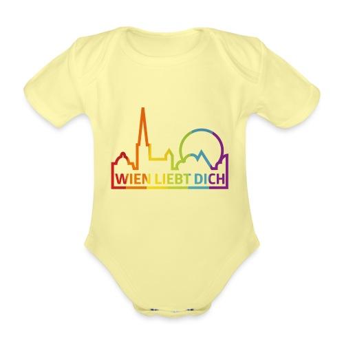 Wien Liebt Dich - Baby Bio-Kurzarm-Body