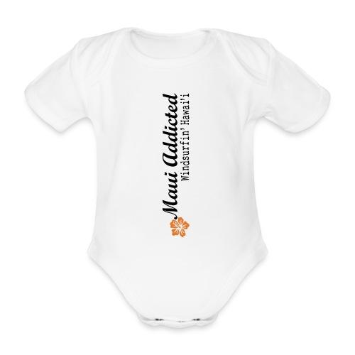 MAddLogoVert ai - Organic Short-sleeved Baby Bodysuit