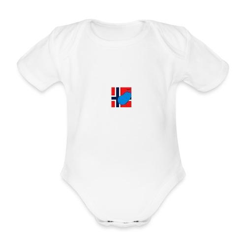 NorPot SAS ACE - Økologisk kortermet baby-body