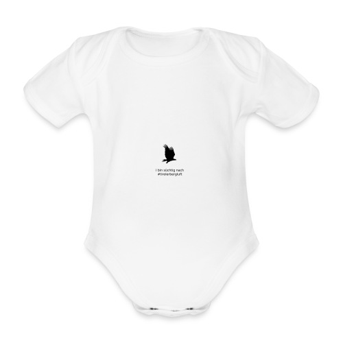 i bin süchtig nach #tirolerbergluft - Baby Bio-Kurzarm-Body