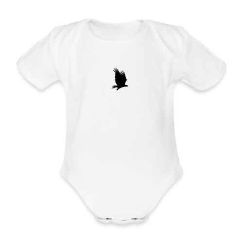 Tirolerbergluft pur (kleiner Adler) - Baby Bio-Kurzarm-Body