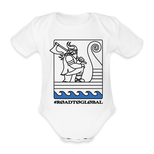 ROAD TO GLOBAL CS:GO - Organic Short-sleeved Baby Bodysuit