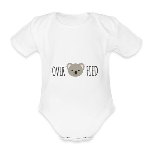 Overkoalafied - Baby bio-rompertje met korte mouwen