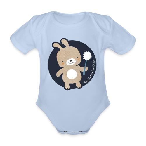 Klohase - Baby Bio-Kurzarm-Body