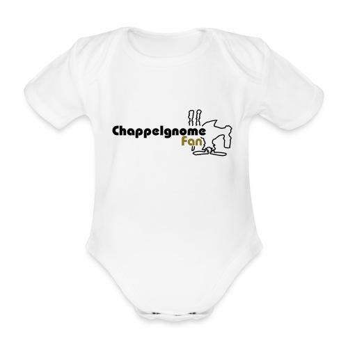 chappelgnome fan logo - Baby Bio-Kurzarm-Body