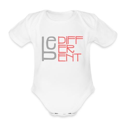Be different - Fun Spruch Statement Sprüche Design - Baby Bio-Kurzarm-Body