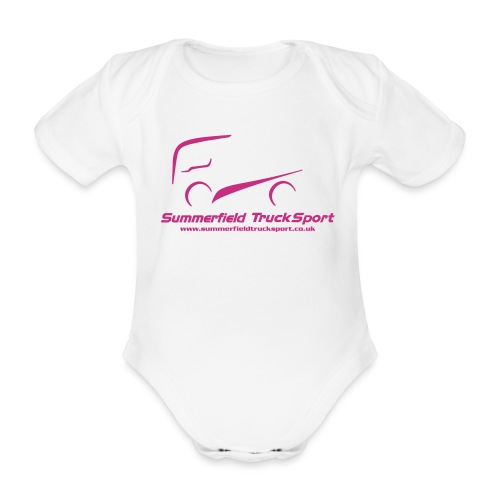 Summerfield Truck Sport - Organic Short-sleeved Baby Bodysuit