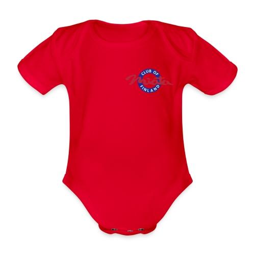 miata logo vektori pieni - Vauvan lyhythihainen luomu-body