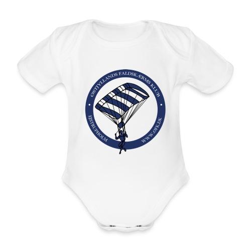 ØFK logo png - Kortærmet babybody, økologisk bomuld