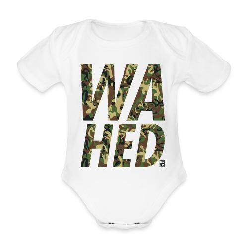 WAHED - Baby bio-rompertje met korte mouwen