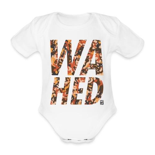 WAHED2 - Baby bio-rompertje met korte mouwen