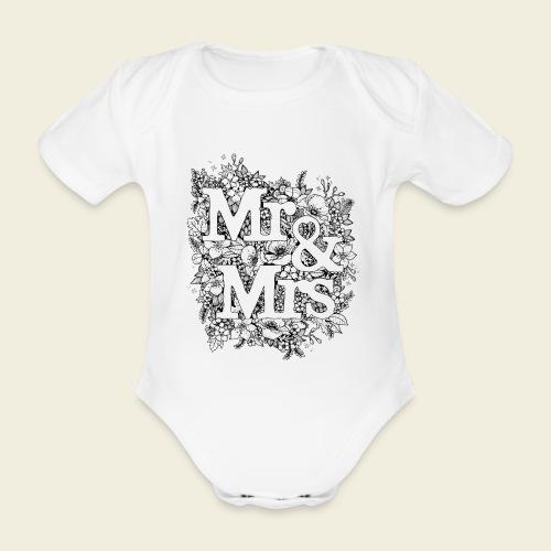Mr and Mrs - Baby Bio-Kurzarm-Body