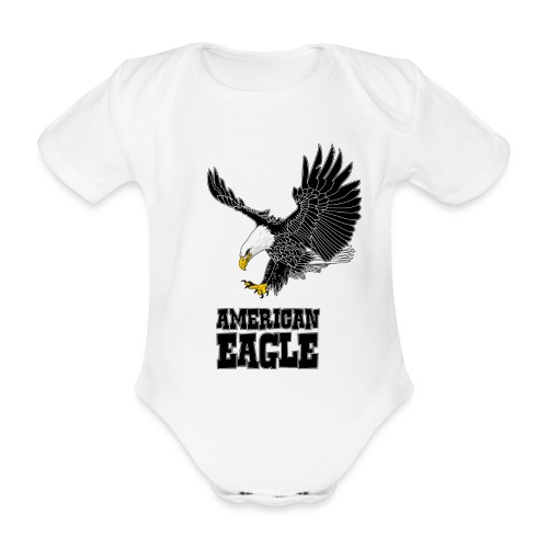 American eagle - Baby bio-rompertje met korte mouwen