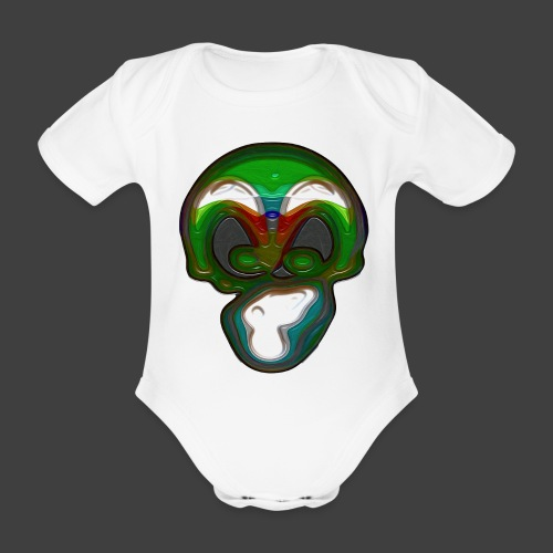That thing - Organic Short-sleeved Baby Bodysuit