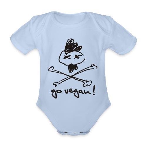 govegan01_225x225 - Baby Bio-Kurzarm-Body