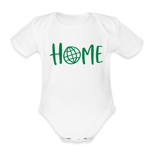 HOME - my days for future - Baby Bio-Kurzarm-Body