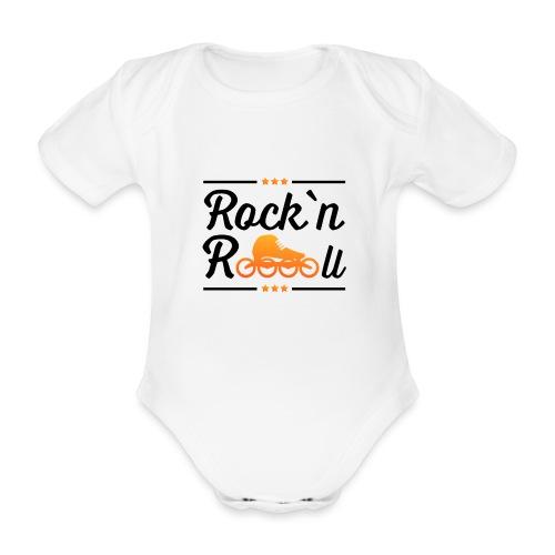 Rockn Roll Faerbig - Baby Bio-Kurzarm-Body