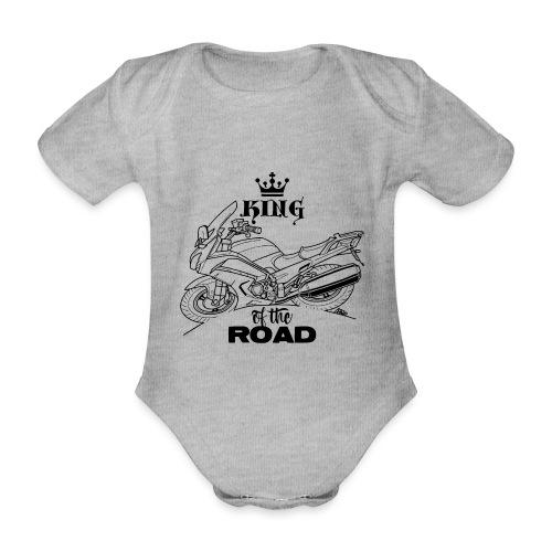 0882 FJR KING of the ROAD - Baby bio-rompertje met korte mouwen