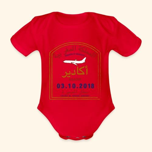 Agadir - Body Bébé bio manches courtes