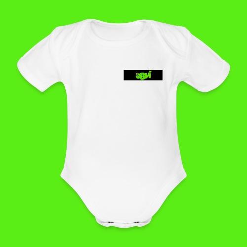 obm jpg - Organic Short-sleeved Baby Bodysuit