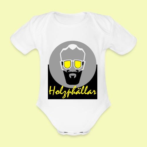 Holzphällar Logo - Baby Bio-Kurzarm-Body