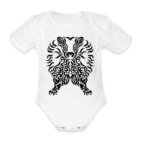 Dachs - Baby Bio-Kurzarm-Body