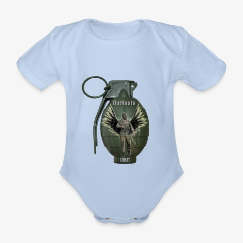 grenadearma3 png - Organic Short-sleeved Baby Bodysuit