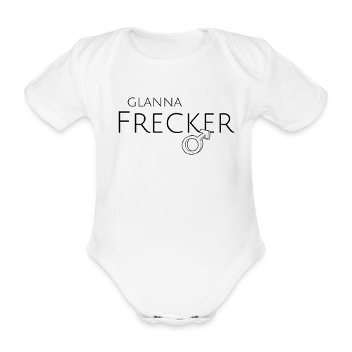 GLANNA FRECKER - Baby Bio-Kurzarm-Body