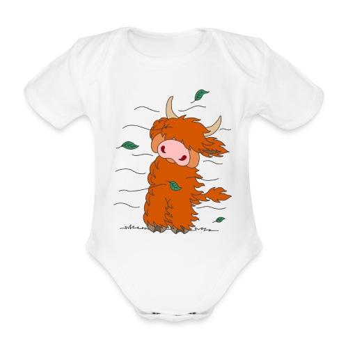 Shortcake - Vom Winde zerweht... - Baby Bio-Kurzarm-Body