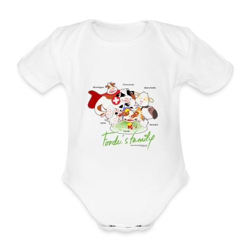 FF FAMILIE 01 - Baby Bio-Kurzarm-Body