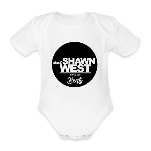 SHAWN WEST BUTTON - Baby Bio-Kurzarm-Body
